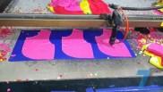 Gia công cắt laser trên vải